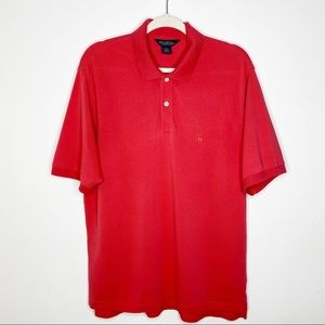 Brooks Brothers Men's Red Polo Shirt